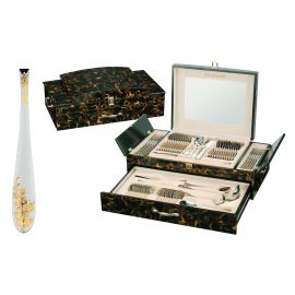 72 Pieces Cutlery Set in Luxurious Wooden Case